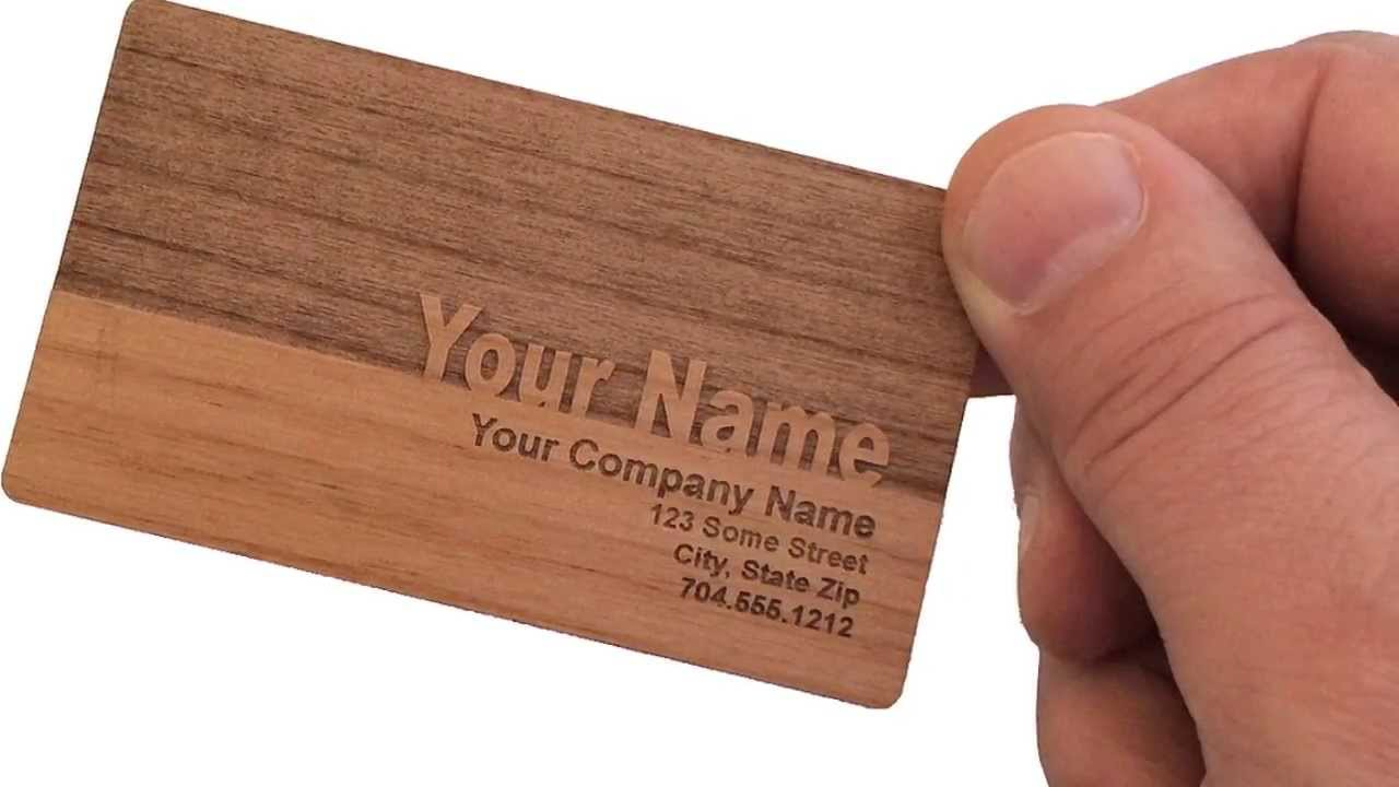 Beautiful Business Cards Made Of Wood Images - Business Card Ideas ...